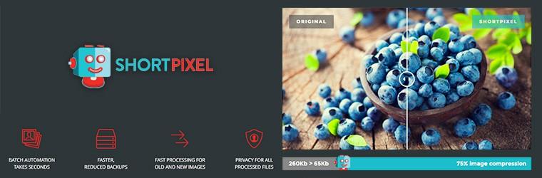 ShortPixel Image optimization service for WordPress