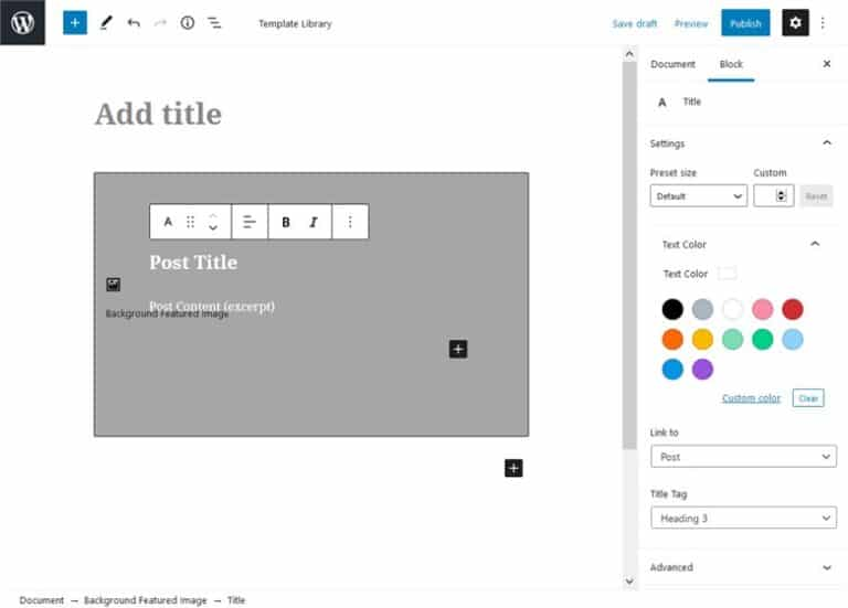 Customize fast the Base WP Theme with Getwid - getwid custom post type